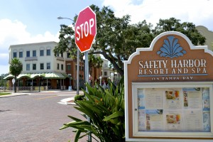 The Jolley Trolley would stop at the Safety Harbor Resort and Spa.