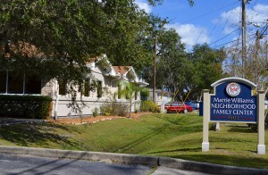 The Mattie Williams Neighborhood family Center is located at 1003 Dr. Martin Luther King  Jr. St. in Safety Harbor.