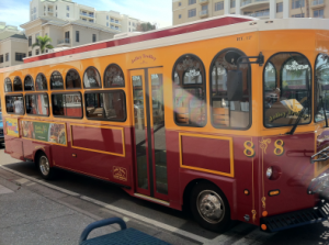 The Clearwater based Jolley Trolley is set to make stops in Safety Harbor starting in February.