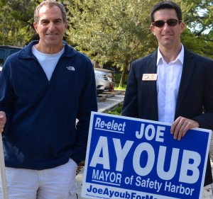Mayor Joe Ayoub lost a tight race to former mayor Andy Steingold.