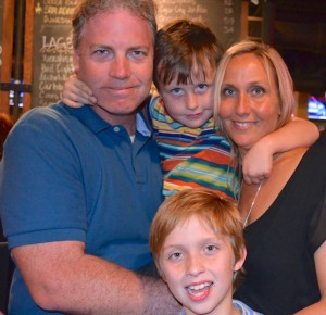 New Safety Harbor City Commissioner Andy Zodrow and his family.