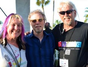 Kiaralinda and Todd with Randall Bramblett.