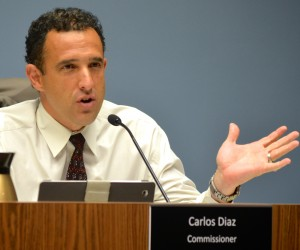 Commissioner Carlos Diaz wants to address the Firmenich property issue.