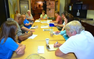 The Safety Harbor Historical Society meeting in June 2014.