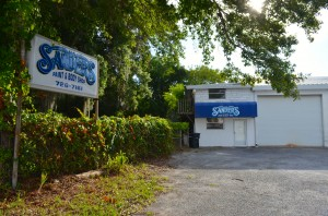 Crooked Thumb Brewery is being built in the old Sanders Auto Body spot on 10th Avenue South in Safety Harbor.