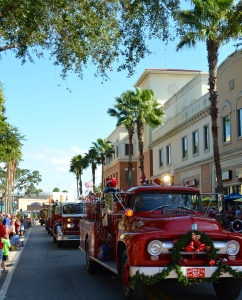 The Safety Harbor Holiday parade is truly an awesome spectacle.