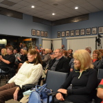City Hall was packed on Thursday night for the candidate forum.