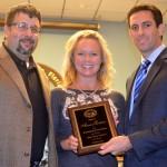 Steve and Kelli Chickos with then Safety Harbor Mayor Joe Ayoub in November 2013.