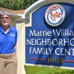 Commissioner Janet Hooper serves as director of the Mattie Williams Neighborhood Family Center.