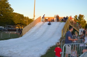 A scene from the 2013 Safety Harbor Snow Fest. The festival returns to City Park this Saturday, Dec. 5, from 4:30 - 8:30 p.m.