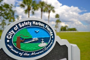 Safety Harbor waterfront Park.