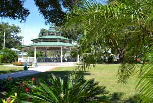 The John Wilson Park Gazebo will be the site of the new Market on Main beginning on Sunday, April 3, 2016