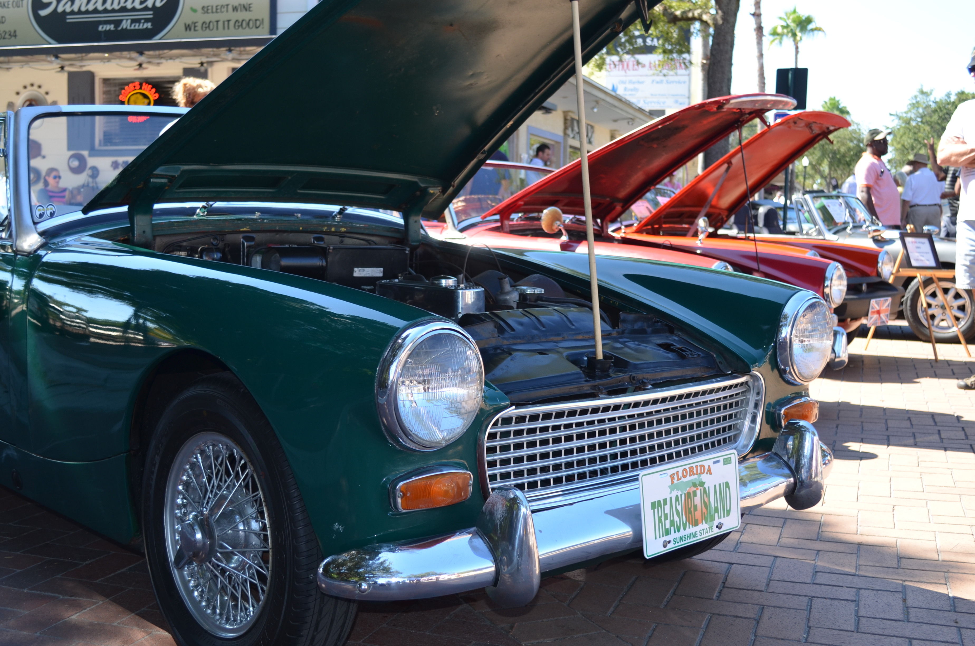 All British Car Show Safety Harbor