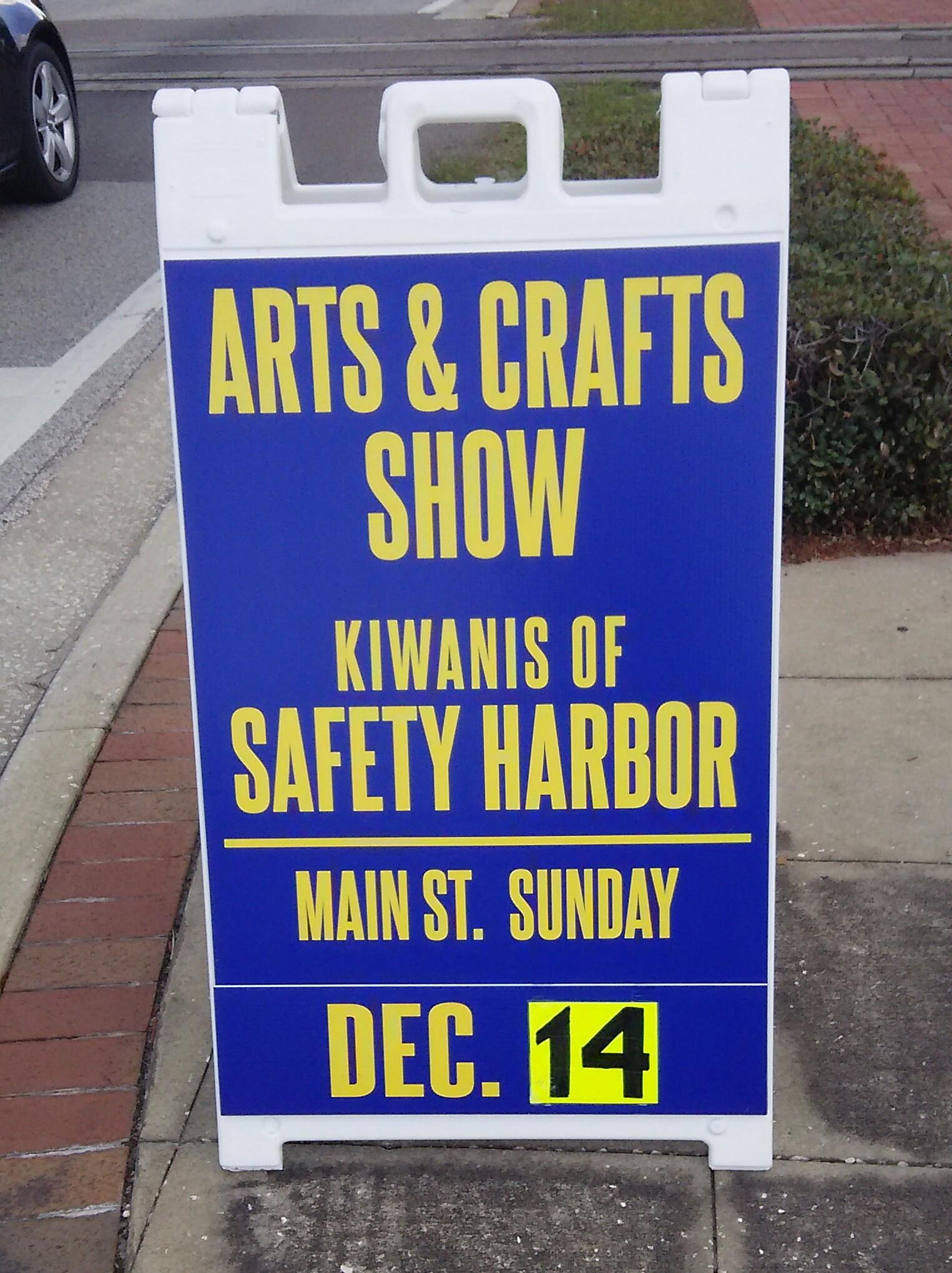 Kiwanis Safety Harbor Craft Show