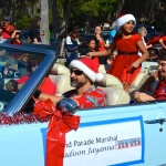 Madison jayanna served as the Grand Marshal of the 2014 Safety Harbor Holiday Parade.