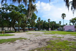 This lot on the corner of 2nd Street N. and Main Street in downtown Safety Harbor will be used for public parking