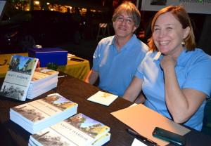 Safety Harbor authors Laura Kepner and Warren Firschein.