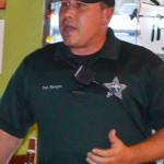 Safety Harbor Community Patrol Deputy Joel Morgan.