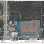 A screenshot of the site plan BayCare presented for development of part of the Firmenich property.