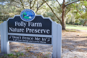 Folly Farms is an 8-acre parcel of land in Safety Harbor that was donated to the city in late 2014 by the George Weiss family.