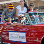 Safety Harbor Mayor Andy Steingold rides in the city's 2015 Holiday Parade.