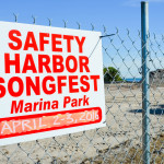 Work on the Safety Harbor's Waterfront Park is expected to be completed in time for the Songfest
