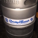 Kegs from Crooked Thumb Brewery will be tapped at six downtown Safety Harbor establishments during a pub crawl on Friday night. Credit: Crooked Thumb Brewery/Facebook.