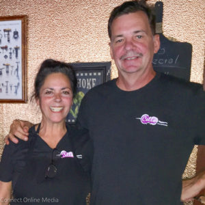 Lori and Andy Holynskyj, new owners of Cello's Charhouse.