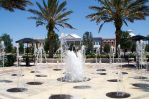 Safety Harbor Mayor Andy Steingold's plan to install an interactive fountain similar to this one in Jensen Beach, Fl. at the Safety Harbor Marina was discarded during a recent CIP workshop.