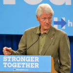 Bill Clinton gave a speech in Safety Harbor on Oct. 11, 2016.