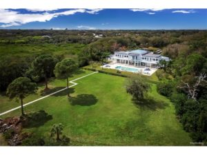 This 9,0000-square-foot home on Philippe Parkway in Safety Harbor reportedly sold for $6.875 million on Friday. The owners have been identified as Per and Svetlana Wickstrom. Credit: MFRMLS.