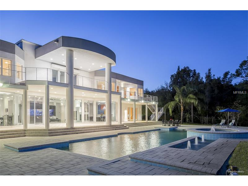 This 9,0000-square-foot home on Philippe Parkway in Safety Harbor that sold for $6.875 million in October 2016 was purchased by drug rehab mogul Per Wickstrom. Credit: MFRMLS.