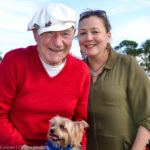 2016 Safety Harbor Holiday Parade grand marshals George Weiss and Laura Kepner.