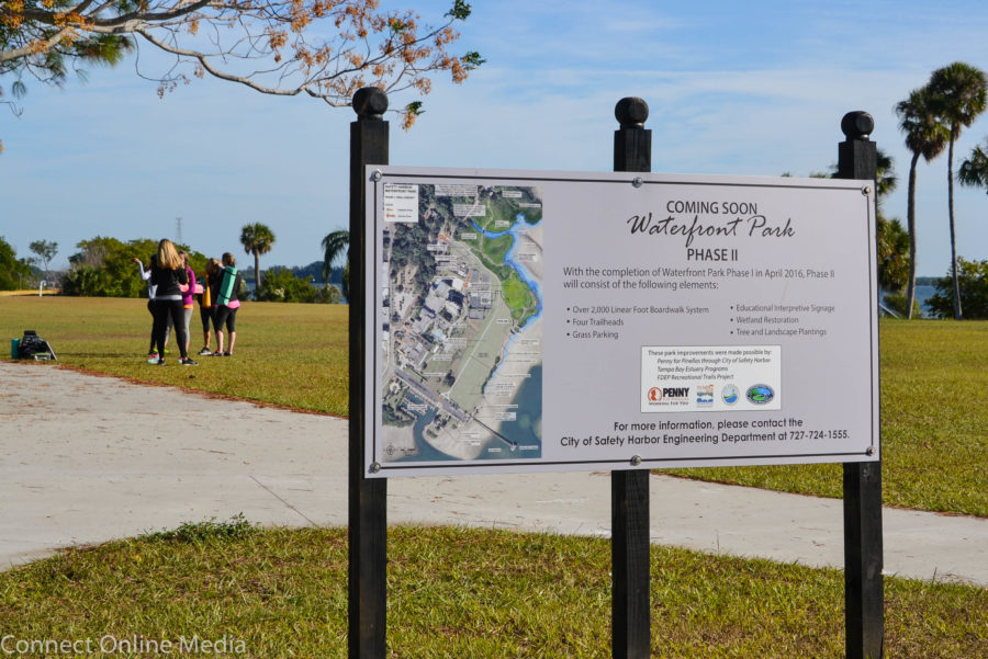 Future development of Safety Harbor's waterfront Park promises to be a hot-button topic in the upcoming election.