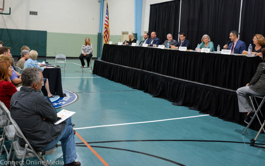The eight candidates vying for three open Safety Harbor City Commission seats were introduced to the public at a forum held at the Community Center on Thursday, Jan. 17.