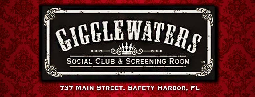 Logo for Gigglewaters Supper Club and Screening Room. (Credit: Richard Wilson)