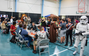 FusionCon 3, the first ever comic convention in Safety Harbor, saw everything from pro wrestlers to Star Wars characters fill the Safety Harbor Community Center on Saturday, April 29, 2017.