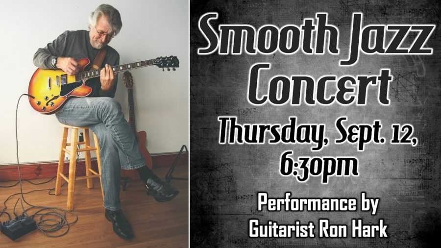 Smooth Jazz Concert, Sept. 12 at 6:30 pm